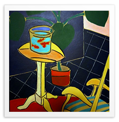 """After Matisse, Fishbowl"" by Walt Meyers"