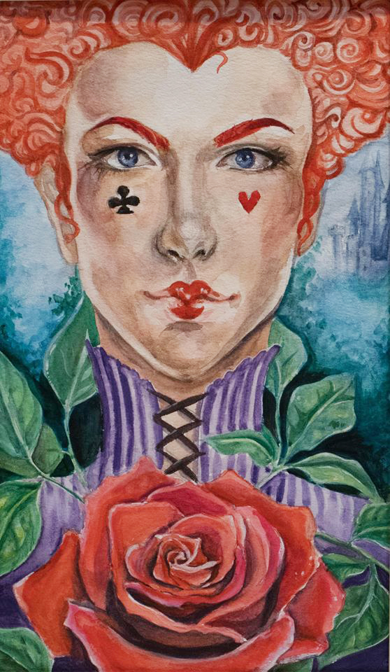 "2nd Place-Rachael Vince ""Queen of Hearts"" Owen J. Roberts High School"