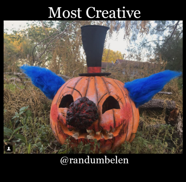 most creative pumpkin