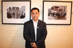 Tu Huynh is the Program Director for Art in City Hall in  Philadelphia