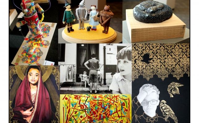 A selection of artworks from the 26th Annual Hartford, CT National Arts Program®  Exhibit.