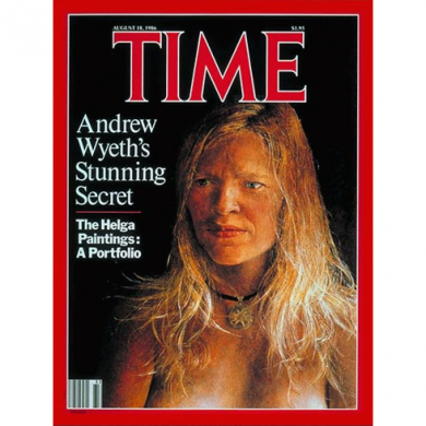 Andrew Wyeth's 'Helga' Time Magazine Cover