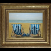 Deckchair Couple