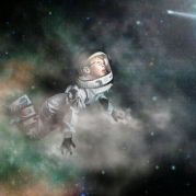 I dream of being an astronaut.