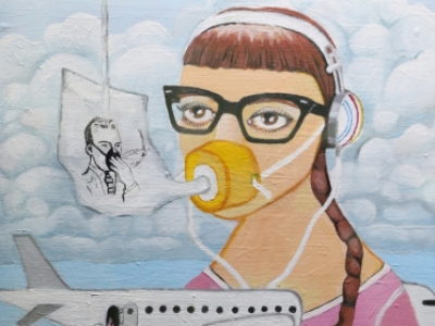 Quarter-Life Crisis JulieFischer Professional, Best of Show Painting Employee; Delta Airlines