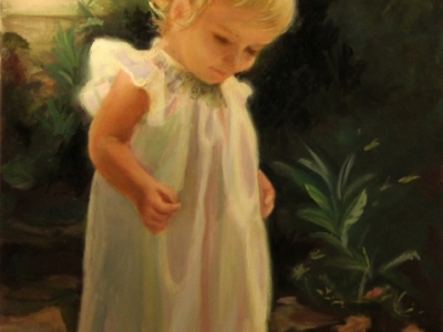 Oil Paintings, Little Girl